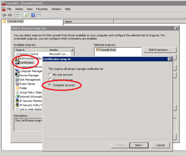 Generate Csr Certificate Signing Request From Iis7 And Deploy Cert