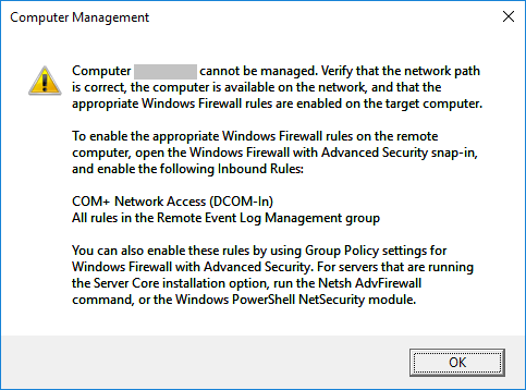 Server 2012 R2 Powershell – Console