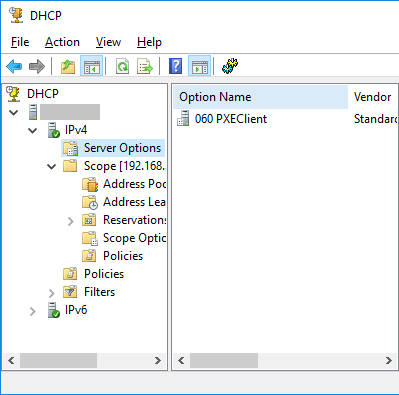 Setup WDS Server – Console
